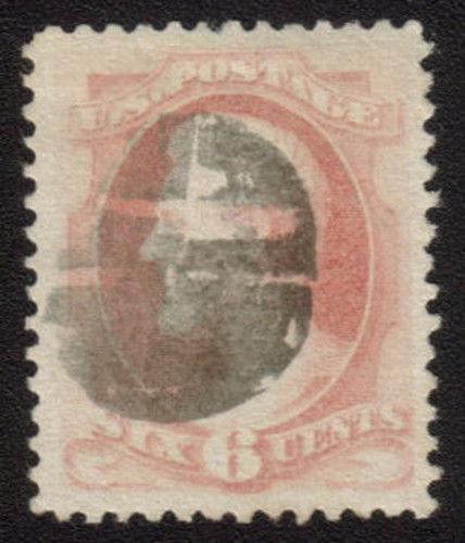 MALACK 186 VF/XF JUMBO, a big stamp, well centered, fresh gu1655