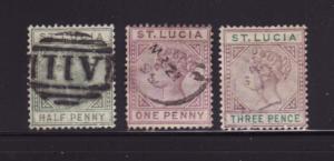 St Lucia 27, 29, 32 U Queen Victoria