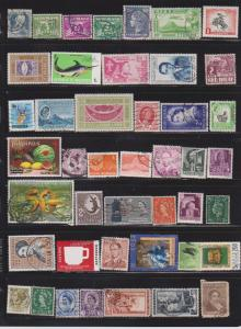 LOT OF DIFFERENT STAMPS OF THE WORLD USED (52) LOT#115