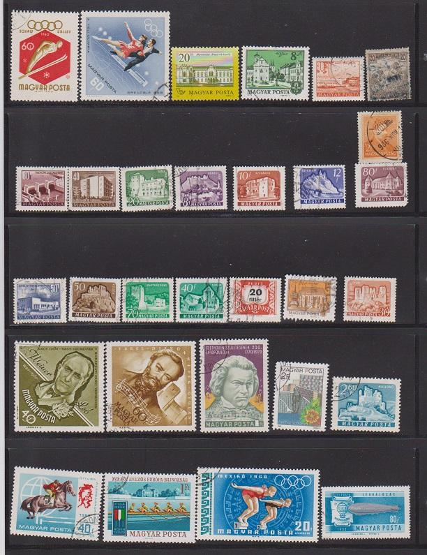 LOT OF DIFFERENT STAMPS OF THE WORLD USED (30) LOT#194