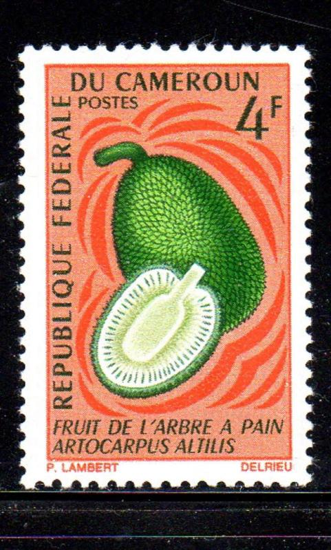 CAMEROUN #463  1967  4fr BREAD FRUIT    MINT  VF NH  O.G