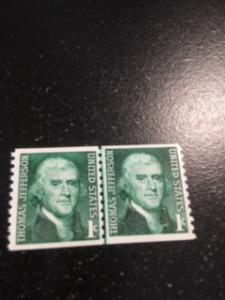 US sc 1299 MNH pair