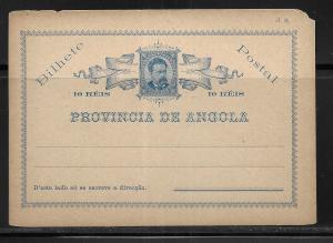Angola 1903 Postcards H&G 1 Mint