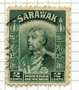 SARAWAK;  1934 early Charles Brooke issue used 2c. value