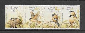 BIRDS - PORTUGAL-AZORES #388a  BULL FINCH  WWF   MNH