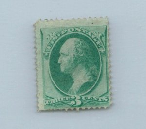 GOLDPATH US STAMP SC# 147 HINGED FINE CAT $200 _SBH_01