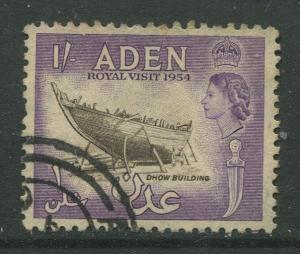 STAMP STATION PERTH Aden #62 - QEII Definitive Issue 1954  Used  CV$2.00.