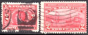 US Scott #370 & #372 Used - Perf 12 National Bank Note Co. Issue CV~$7