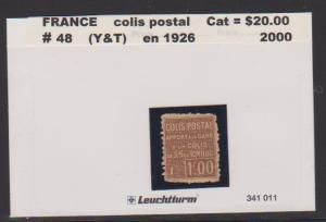 FRANCE #48 STAMP USED LOT#F29