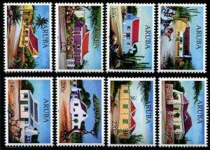 HERRICKSTAMP NEW ISSUES ARUBA Sc.# 534-41 Architecture - Houses