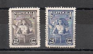 Guatemala 321-322 used