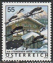 2005 Austria - Sc 1984 - MNH VF - 1 single - Cabin surcharged