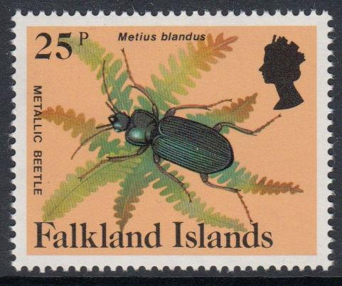 Falkland Islands - 1984 Insects and Spiders (25p) (MNH)