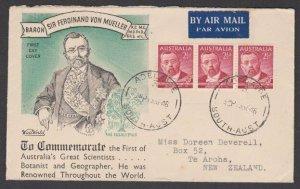 AUSTRALIA 1948 Von Mueller commem FDC.......................................N617