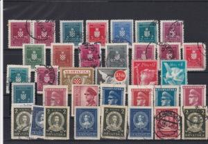 Croatia Mixed Stamps Ref 25353