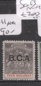 British Central Africa BCA SG 11 MOG (10dlr)