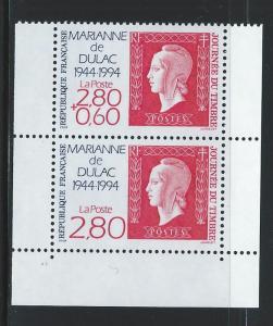 FRANCE SC # 2408 - 9  MNH