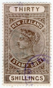 (I.B) New Zealand Revenue : Stamp Duty 30/-