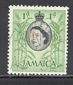 Jamaica Sc # 160 used (DA)