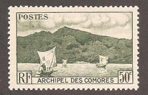 Comoro Islands 31 Mint VF LH