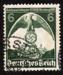 1935 Germany 6pfg, Used, Sc 465
