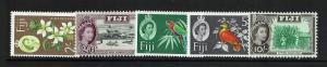 Fiji SG# 319, 320, 322 - 324 - Mint Hinged (323 / Creased Perf) - Lot 062117