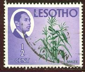 Lesotho 1967: Sc. # 25; O/Used Single Stamp