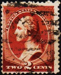 U.S.A. 1870 2c S.G.148 Fine Used