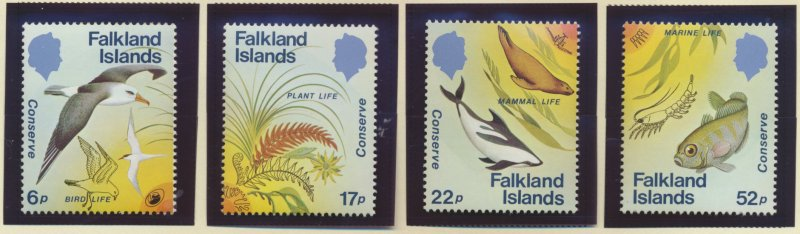 Falkland Islands Stamps Scott #412 To 415, Mint Never Hinged - Free U.S. Ship...