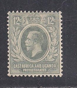 EAST AFRICA AND UGANDA PROT SC# 44  F/MOG 1912
