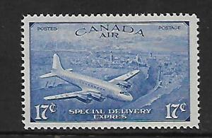 CANADA CE3 MNH DC-4, TRANSATIANTIC MAIL ISSUE 1946