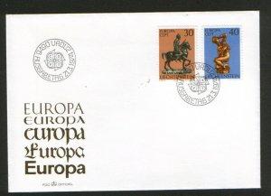 LIECHTENSTEIN-FDC-EUROPA CEPT-1974.