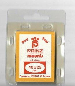 PRINZ MOUNTS 45 PIECE 40X25 MM
