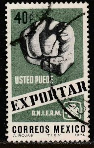 MEXICO 1057 40cts Export Promotion. Used.VF. (428)