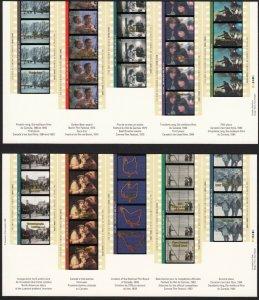 Canada 1996,CINEMA  MNH S/sheets # 1615-1616
