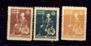 Georgia 13-15 MNH 1920 set