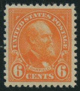#558 6c 1922 XF OG NH CV $120 BV2212