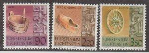 Liechtenstein Scott #1126-1127-1128 Stamps - Mint NH Set