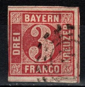 Bavaria #10 F-VF Used CV $4.00 (X251)
