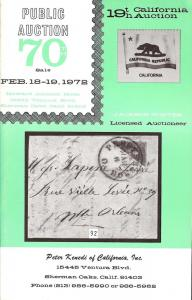 Kenedi: Sale # 70  -  United States and General Foreign, ...