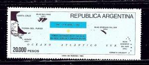 Argentina 1411 MNH 1983 Flag    (ap1686)