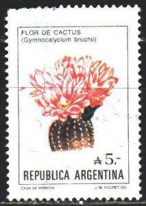 Argentina. 1987. 1855. Cactus, flora. USED.