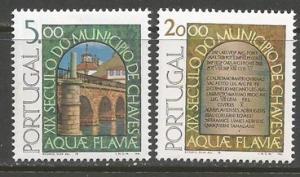 PORTUGAL 1392-93 MNH BRIDGES Z250