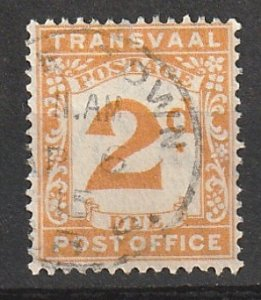 J3 Transvaal Used Postage Due #190902-3