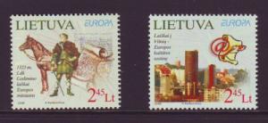 Lithuania Sc 865-6 2008 Europa stamp set mint NH