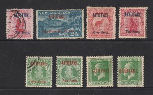 Aitutaki a small lot of earlies  MH & U