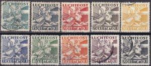 Netherlands Antilles #C4-11, C13-4  F-VF Used CV $8.15 (Z4556)