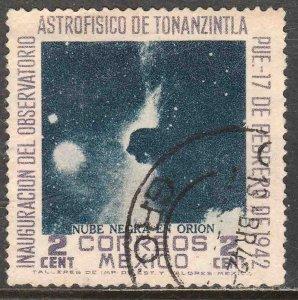 MEXICO 774, 2¢ Tonanzintla Observatory Astrophysics. USED. VF. (727)