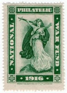 (I.B) Cinderella Collection : National Philatelic War Fund (monochrome)