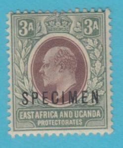BRITISH EAST AFRICA 5 - SPECIMEN O/P - MINT HINGED OG *  NO FAULTS VERY FINE !